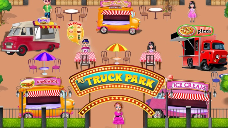 Fast Food Truck Park Chef Game screenshot-1
