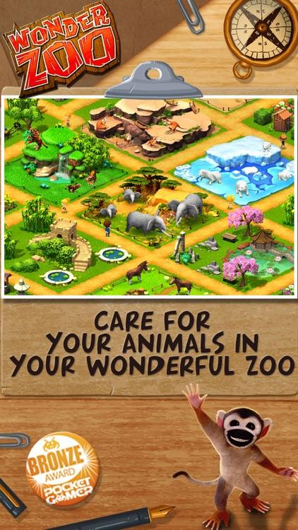 Wonder Zoo : Animal & dinosaur rescue screenshot-0