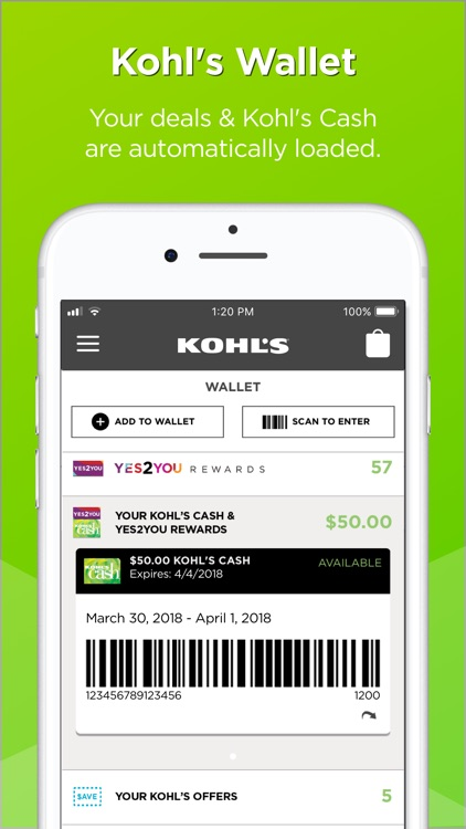 Kohl's screenshot-0
