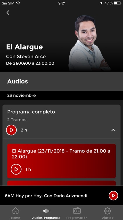 Caracol Radio screenshot-3