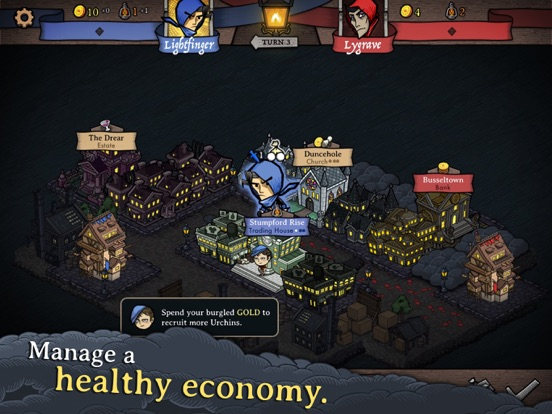Игра Antihero - Digital Board Game