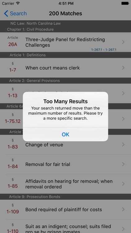 North Carolina Law (LawStack Series) screenshot-4