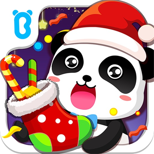 クリスマス気分が盛り上がるよ!飾って遊べる知育アプリ「たのしいクリスマスーBabyBus 子ども・幼児向け」
