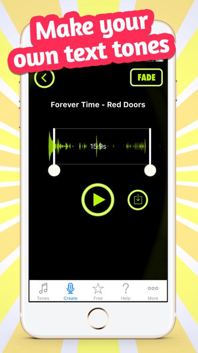 Custom Alert Tones & Sounds Screenshot on iOS