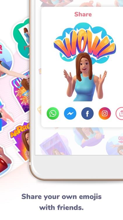MojiCam - New Personal Emoji screenshot-3