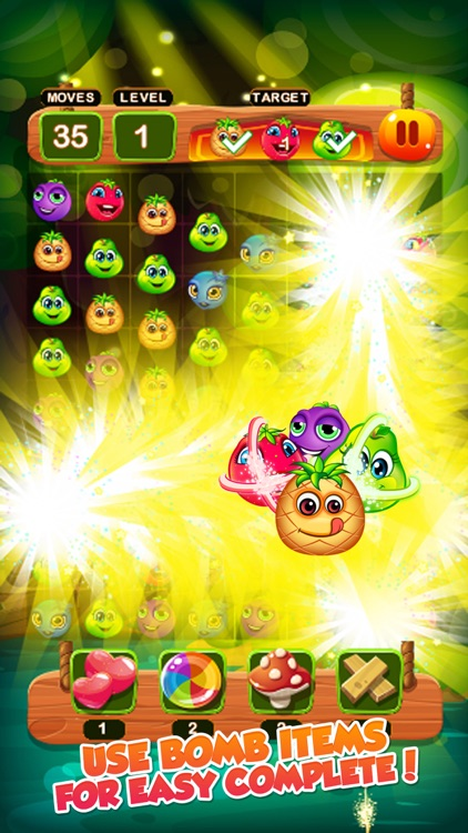 fruits bomb mania : match 3 screenshot-3