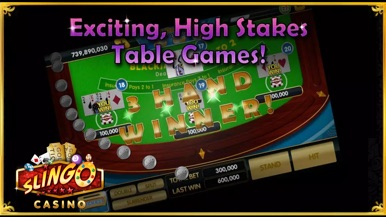 Slingo Casino screenshot for iPhone