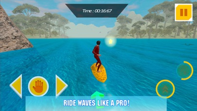 Water Surfing Board: Rider Sim screenshot three