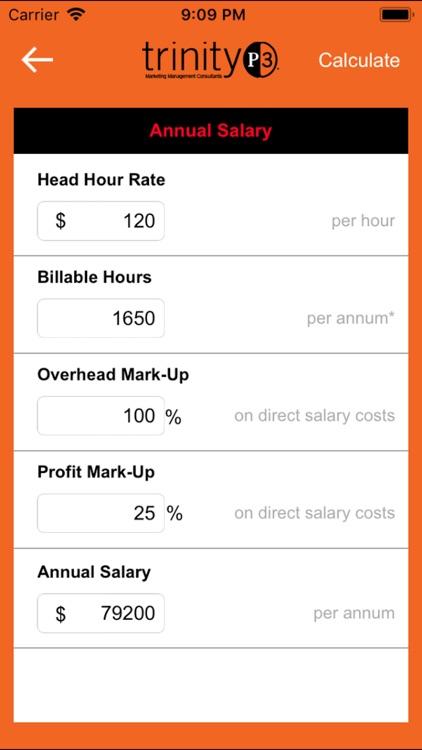 Resource Rate Calculator screenshot-4