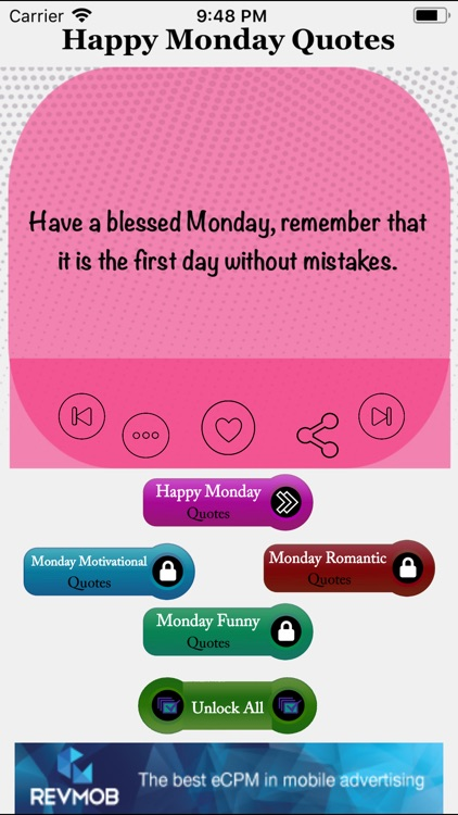 Monday Quotes screenshot-1