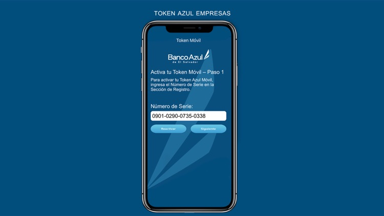 Token Azul Empresas by Banco Azul
