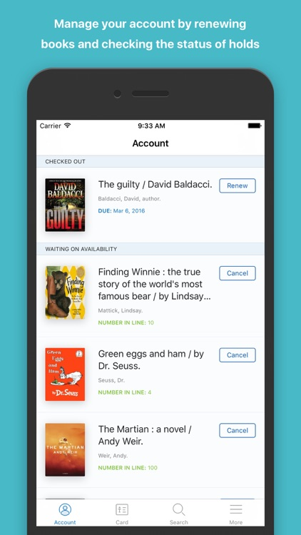 The CMLibrary Mobile App