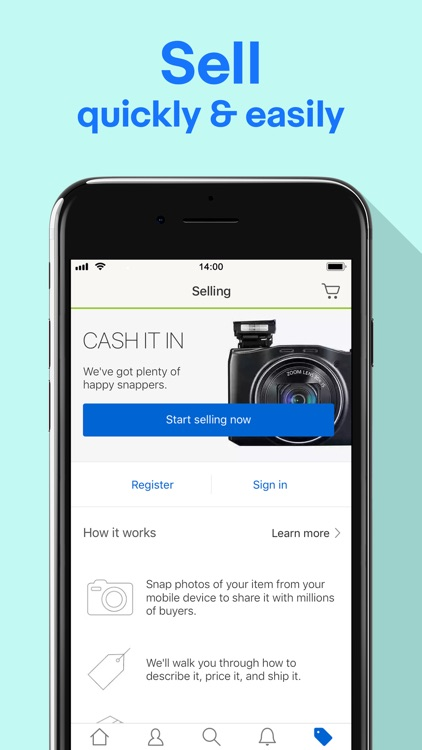 Shop, Sell & Save with eBay