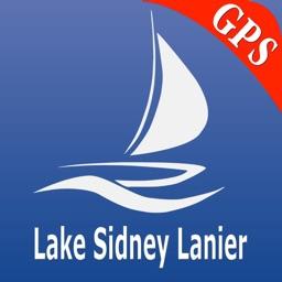 Lake Sidney Lanier GPS Charts