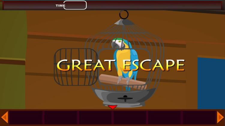 Parrot Escape The Castle-Birds Rescue screenshot-3