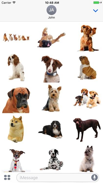 Fun Dogs Stickers!