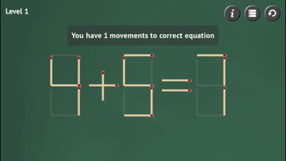 Matchstick Puzzle ScreenShot0