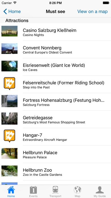 Salzburg Travel Guide Offline review screenshots
