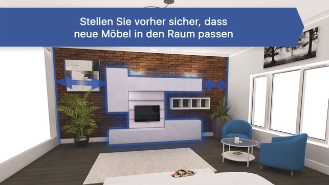 raumplaner zimmer einrichten im app store. Black Bedroom Furniture Sets. Home Design Ideas