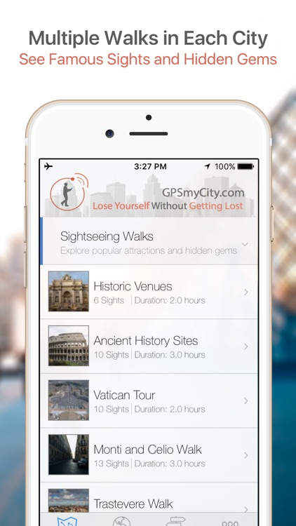 Lyon Map & Walks (F) screenshot-0