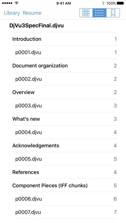 DjVuReader Mobile screenshot-4