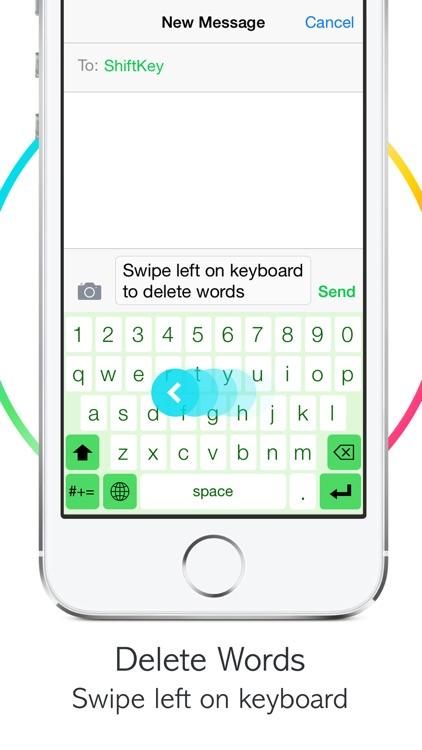 ShiftKey Keyboard Lite screenshot-3