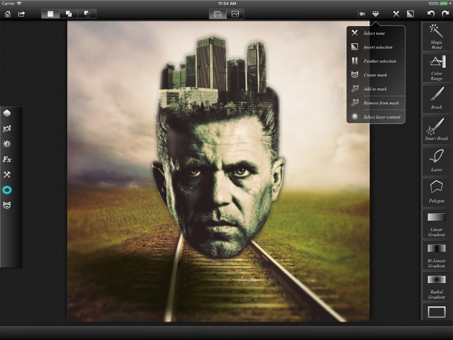 Leonardo - Photo Layer Editor Screenshot
