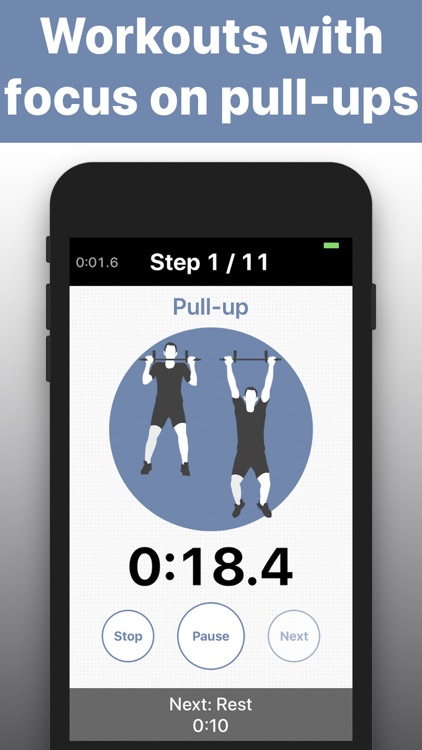 Pull Ups training exercises