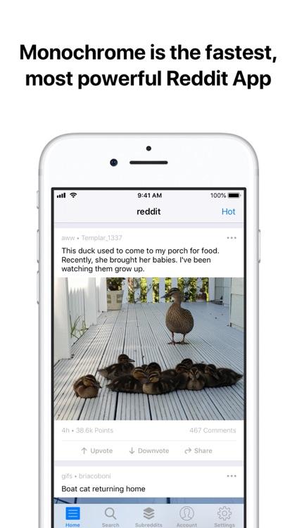 Monochrome for Reddit