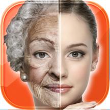 改变脸部照片效果老化编辑器