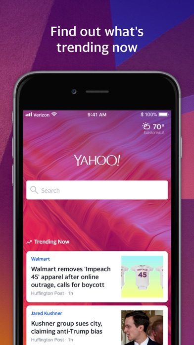 Yahoo Search for Windows