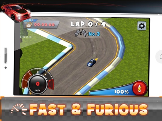 Finger Racer 3D Screenshots