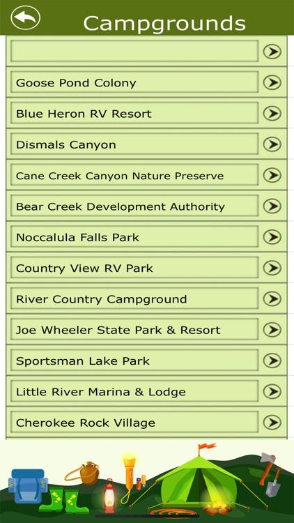 Alabama Campgrounds & Trails screenshot-3