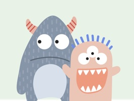 Toby & Friends Stickies for iMessage are an awesome collection of 50+ cute monsters with plenty of different expressions