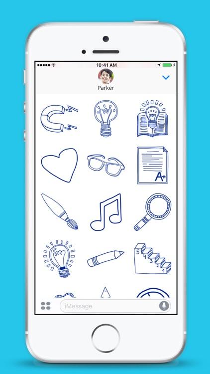School Stickers - iMessage screenshot-3