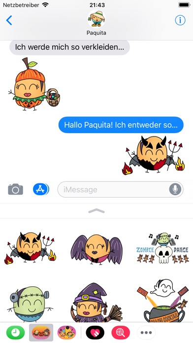 Paquitos Stickers: HalloweenScreenshot von 3