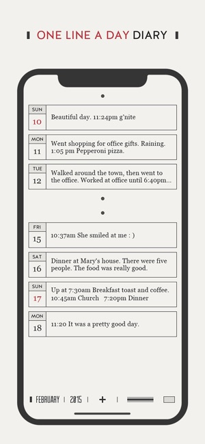 DayGram Diary Screenshot