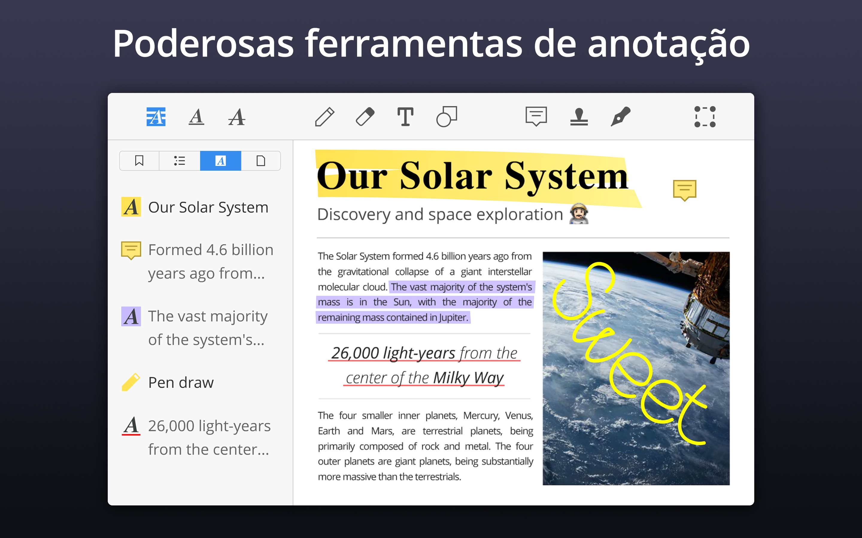 Screenshot do app PDF Expert - Edit and Sign PDF