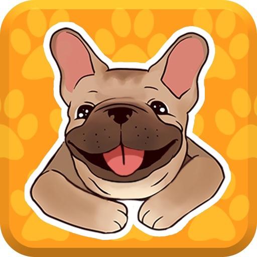 French Bulldog Emojis Star