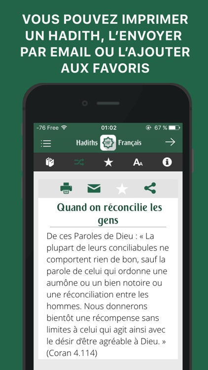 Hadiths Français + Coran