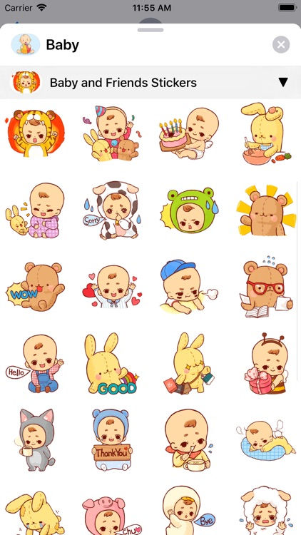 Baby Stickers • screenshot-8