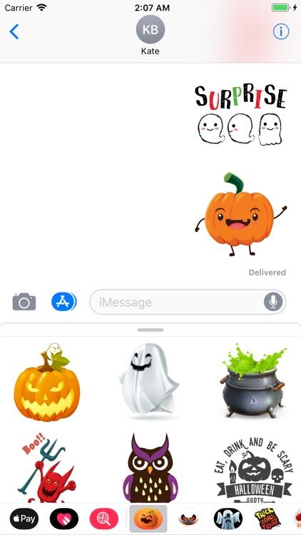 Happy Halloween Wizard Sticker
