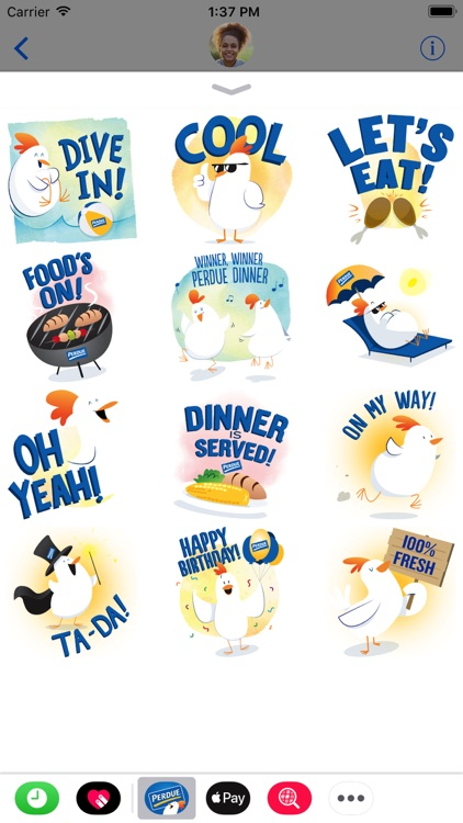 PERDUE® Chicken: Summer Chick-moji