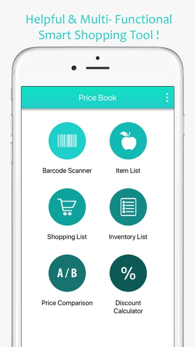 Price Book-Track Grocery Price - App - Mobile Apps - TUFNC