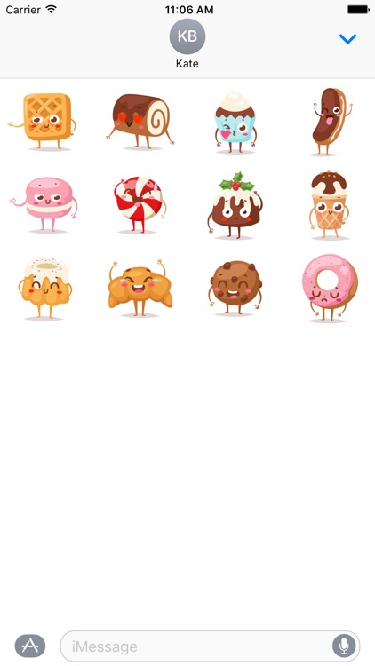 Sweets Stickers screenshot-4