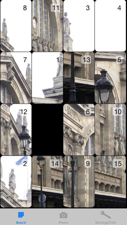 Square Tiles - Tile Puzzle