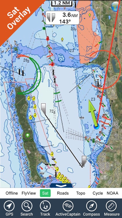 Perth Nautical Charts GPS - HD