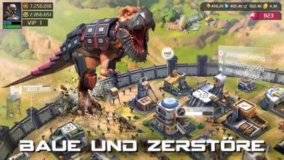 Screenshot 2 Dino War: Survival