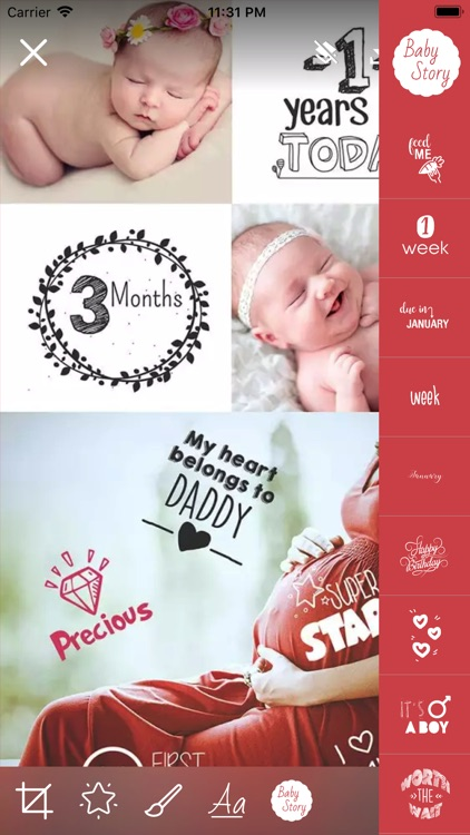 Baby Story Camera screenshot-4
