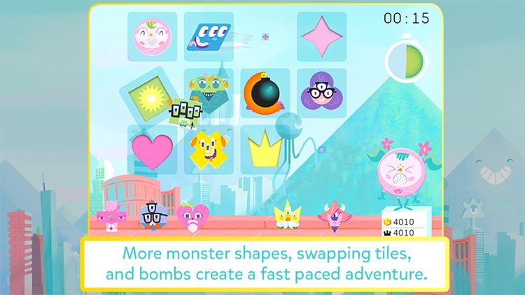 Monster POW! - Fast-paced puzzle game for kids screenshot-3